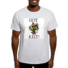 GOT KILT? Ash Grey T-Shirt
