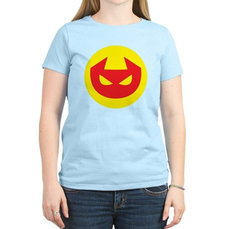 Simple Devil Icon Women's Light T-Shirt