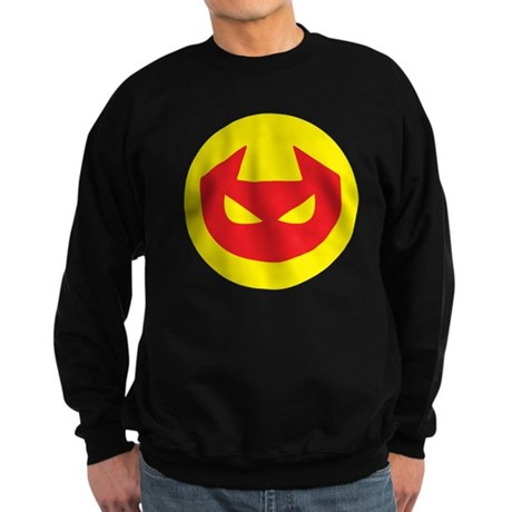 Simple Devil Icon Sweatshirt (dark)