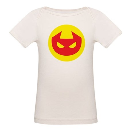 Simple Devil Icon Organic Baby T-Shirt