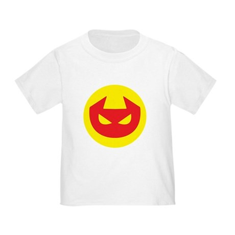 Simple Devil Icon Toddler T-Shirt