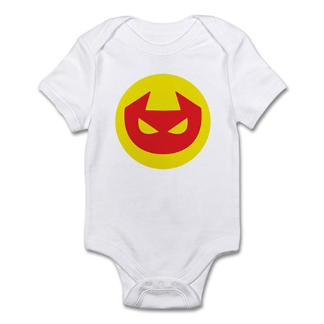 Simple Devil Icon Infant Bodysuit