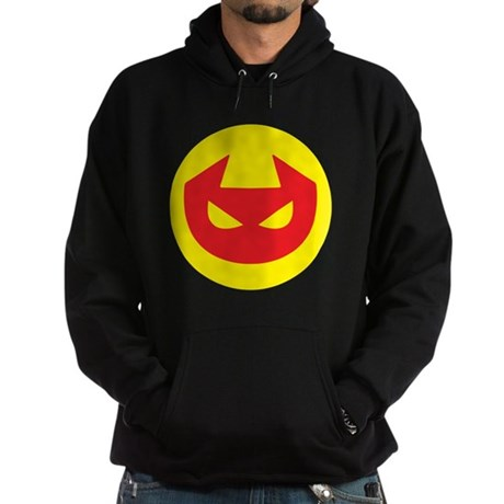 Simple Devil Icon Hoodie (dark)