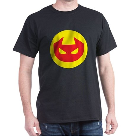 Simple Devil Icon Dark T-Shirt