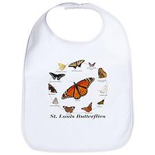 St.Louis Butterflies Bib