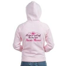 Army Mom, Created Equal Zip Hoodie