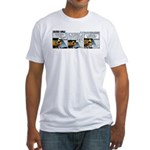 0490 - Reduce speed Fitted T-Shirt