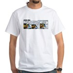 0490 - Reduce speed White T-Shirt