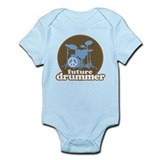Future Drummer Cute Infant Bodysuit