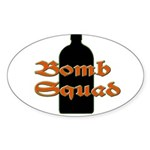 Jaegerbomb Squad Sticker (Oval 50 pk)