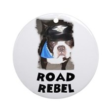 ROAD REBEL Ornament (Round)