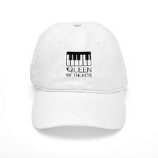 Piano Queen Of Keys Baseball Cap