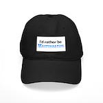 I'd Rather Be Masturbating Black Cap