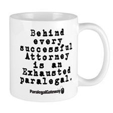 Behind Every Successful Attor Mug