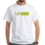 LAMQG White T-Shirt
