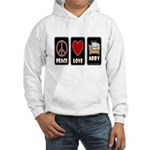 Peace Love Abby Hooded Sweatshirt