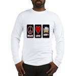 Peace Love Abby Long Sleeve T-Shirt