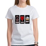 Peace Love Abby Women's T-Shirt
