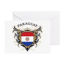 Paraguay Greeting Card