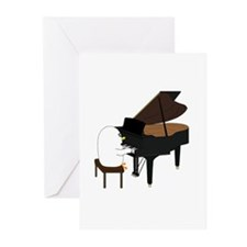 Concert Pianist Greeting Cards (Pk of 10)