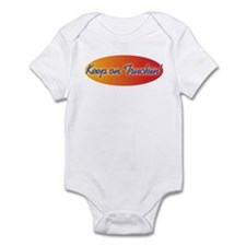 Retro Keep On Truckin Infant Bodysuit