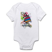 Flower Armenia Infant Bodysuit
