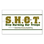 S.H.O.T. Campaign Sticker (Rectangle)
