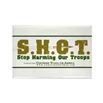 S.H.O.T. Campaign Rectangle Magnet (10 pack)