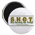 S.H.O.T. Campaign 2.25&amp;quot; Magnet (100 pack)