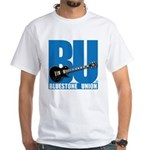 Modern Bluestone Union BU White T-Shirt