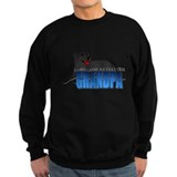 Black Labrador Retriever Grandpa Sweatshirt