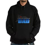 Black Labrador Retriever Dad Hoodie