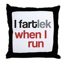 Funny I FARTlek © Throw Pillow