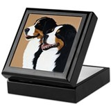 "Bernese Mountain Dogs ""Pair"" Keepsake Bo"