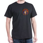 Masonic intertwined Black T-Shirt