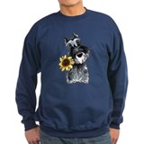 Sunflower Schnauzer Sweatshirt