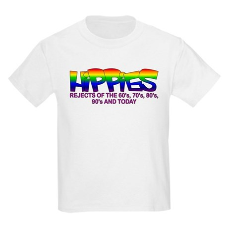 Anti Liberal Hippies Kids T-Shirt