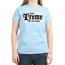 Treme, New Orleans Women's Pink T-Shirt