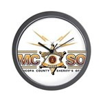 MCSO Radio Posse Wall Clock