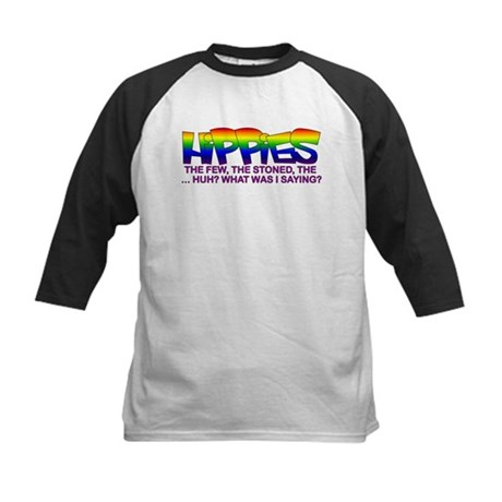 "Anti Liberal Hippies ""Stoned"" Kids Baseball Jersey"