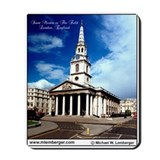 St Martin in the Field, London, England, Mousepad