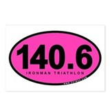 140.6 Ironman Triathlon Postcards (Package of 8)