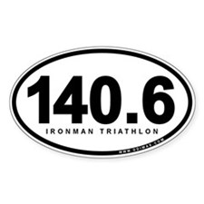 140.6 Ironman Triathlon Decal