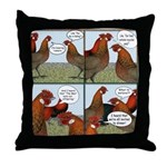 Rumors Throw Pillow