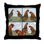 Rooster Bait Throw Pillow