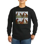 Rooster Bait Long Sleeve Dark T-Shirt