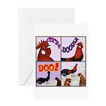 Cocka-Doodle-Doo Greeting Card