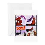Cocka-Doodle-Doo Greeting Cards (Pk of 10)