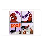 Cocka-Doodle-Doo Postcards (Package of 8)