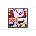 Cocka-Doodle-Doo Large Poster